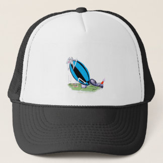 put the boot in - rugby, tony fernandes trucker hat