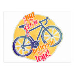 put the fun between your legs! postcards