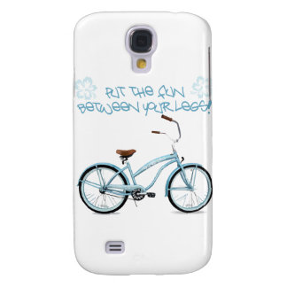 Put the FUN in between your legs - light blue Galaxy S4 Case