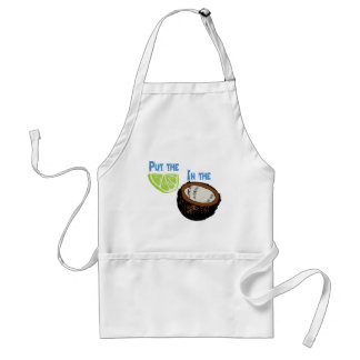 Put the lime in the Coconut! Standard Apron