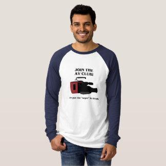"""Put the """"Super"""" in Super VHS T-Shirt"""