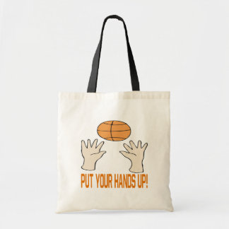 Put Your Hands Up Canvas Bags