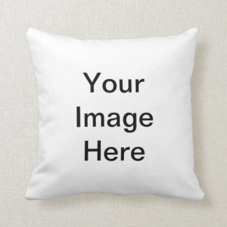 Put Your Own Image Text Logo. Make Custome Design Cushion