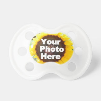 PUT YOUR OWN PHOTO ON GIFT friend mom grandma aunt Pacifier