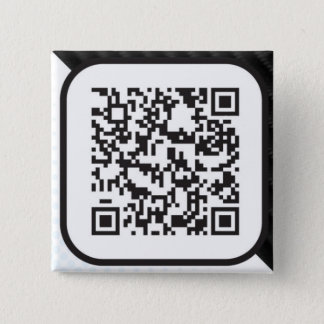 Put your Scannable QR code on these 15 Cm Square Badge
