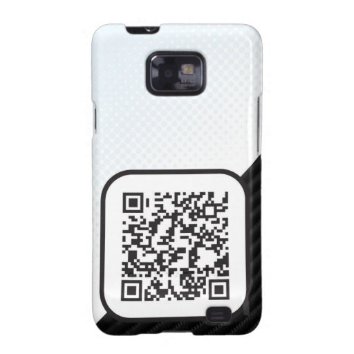 Put your Scannable QR code on these Samsung Galaxy Cover