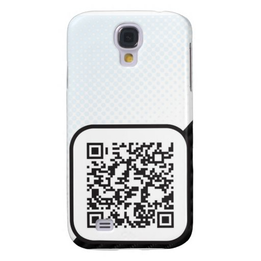 Put your Scannable QR code on these Samsung Galaxy S4 Case
