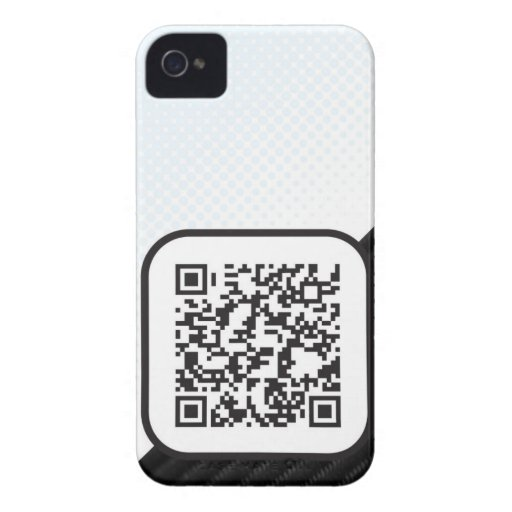 Put your Scannable QR code on these Blackberry Bold Case