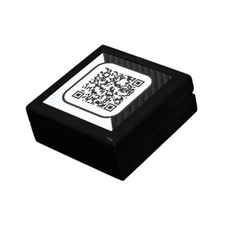 Put your Scannable QR code on these Keepsake Box