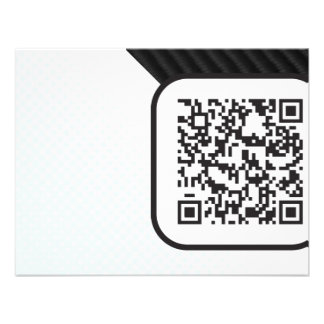 Put your Scannable QR code on these Invitations
