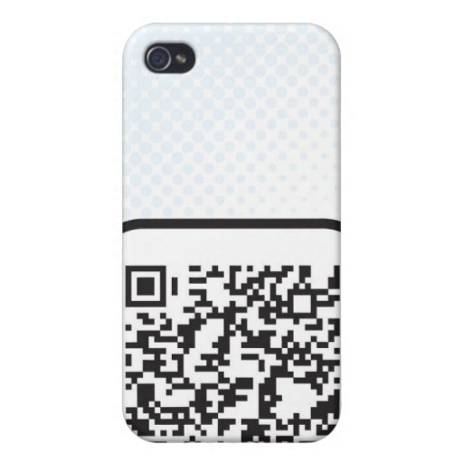 Put your Scannable QR code on these Covers For iPhone 4