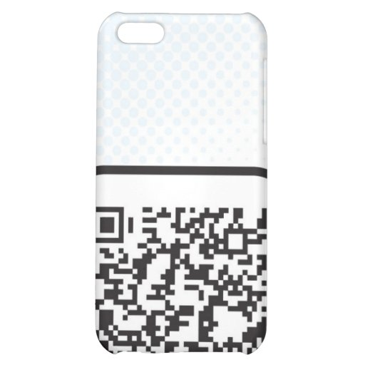 Put your Scannable QR code on these Case For iPhone 5C