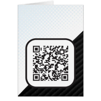 Put your Scannable QR code on these Note Card