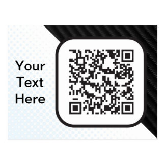 Put your Scannable QR code on these Post Cards