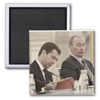 Putin Владимир Путин Square Magnet