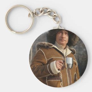 Putin Drinking! Key Ring
