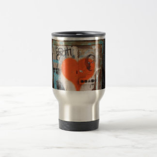 Putin Heart Coffee Travel Mug