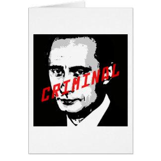 PUTIN IS A WAR CRIMINAL CARDS