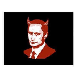 PUTIN IS THE DEVIL POSTCARDS
