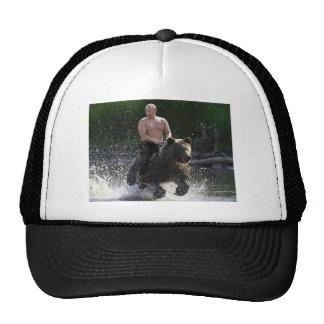 Putin rides a BEAR! Cap