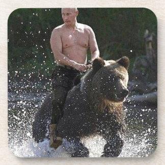 Putin rides a bear! coaster