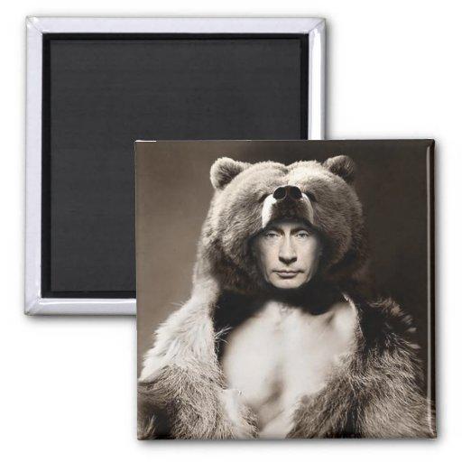 Putin the Bear Magnets
