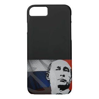 Putin with Russian Flag iPhone 7 Case