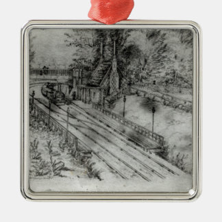 Putney Railway Station Christmas Ornament