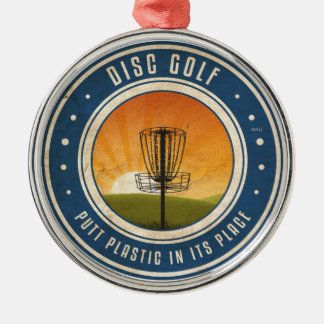 Putt Plastic In Its Place Christmas Ornament