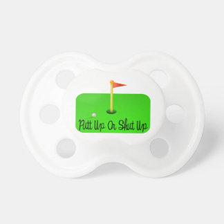 Putt Up Or Shut Up Golf Dummy