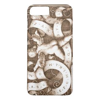 Putte Mit Spruchband Mit Alphabet iPhone 7 Plus Case