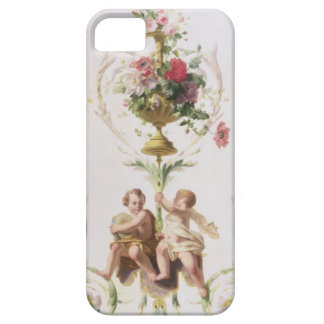 Putti amid swags of flowers and leaves iPhone 5 cases
