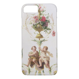 Putti amid swags of flowers and leaves iPhone 8/7 case