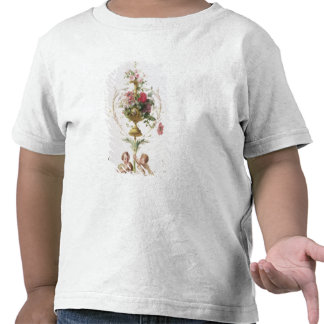 Putti amid swags of flowers and leaves shirt