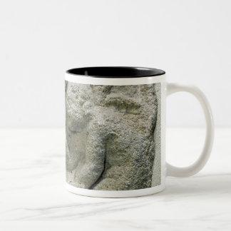 Putti playing latronculi Two-Tone coffee mug