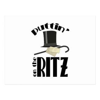 Puttin Ritz Postcard
