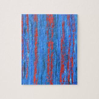 """Puzzle art """"Rain """""""