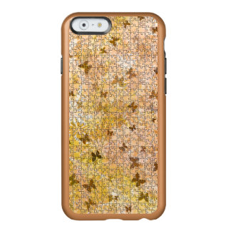 Puzzle Butterflies and Daisies-Browns by STaylor Incipio Feather® Shine iPhone 6 Case