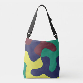 Puzzle Camo Crossbody Bag