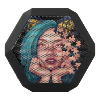 Puzzle Cat Girl Boombot Black Bluetooth Speaker
