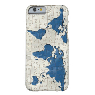PUZZLE EARTH IPHONE BARELY THERE iPhone 6 CASE