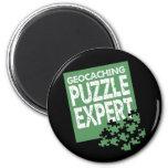 Puzzle Expert Fridge Magnet