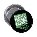 Puzzle Expert Pinback Button