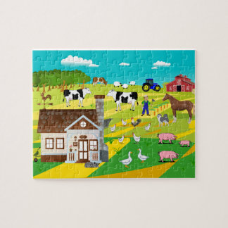 "Puzzle ""FARM """