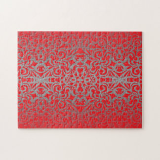 Puzzle Floral abstract background