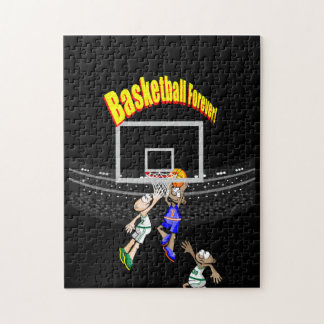 Puzzle for fanatics of the Basketball