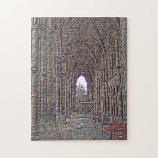 Puzzle: Holyrood Abbey, Edinburgh, Scotland