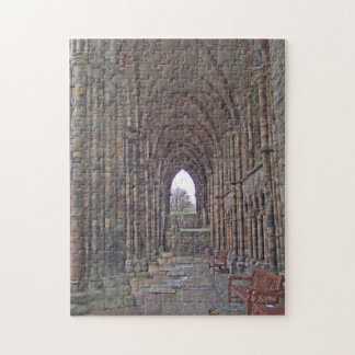 Puzzle: Holyrood Abbey, Edinburgh, Scotland Jigsaw Puzzle