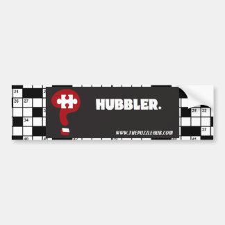 Puzzle Hub - Hubbler Bumper Sticker