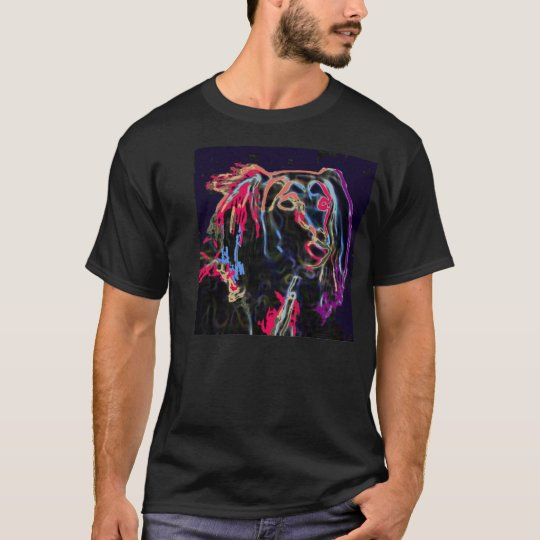 Puzzle in neon T-Shirt